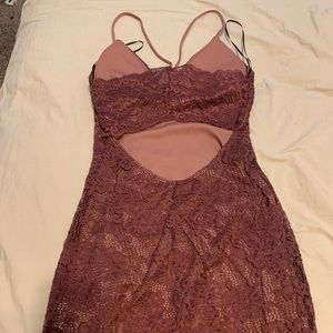 Windsor Dresses - Short maroon homecoming dress